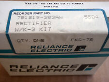 Reliance Electric Rectifier WK-3 Kit, PKG--7B, 701 B19-303AW, 55D4, NEW