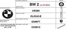 BW2 KIT 4 FILTRI TAGLIANDO BMW SERIE 3 E46 320 D 110 KW 150 CV