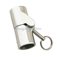 """Marine Stainless Steel 1"""" Boat Rail Fittings Folding Swivel Tube Pipe Connector"""