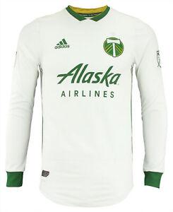 Adidas MLS Men's Portland Timbers On The Field Long Sleeve Jersey
