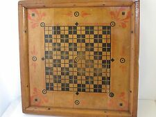 Antique Tabletop Game Board 2 sided