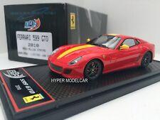 BBR Model 1/43 Ferrari 599 GTO 2010 Red/Stripes Yellow Art. BBRC35B1