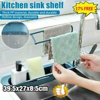Kitchen Telescopic Sink Rack Holder Expandable Storage Drain Basket