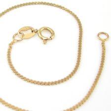 "14K Yellow Gold Scroll Link Chain Bracelet 7"""