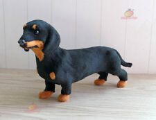Dachshund Dog Pet Learning Resources Miniature Plush Stuffed Animal Car Ornament
