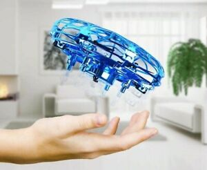 MINI HELICOPTER UFO RC Drone Infraed Hand Sensing Air Craft Electronic Model