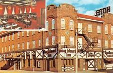 RICE LAKE, WI  Wisconsin   KING EDWARD INN & Flagon Lounge    ROADSIDE Postcard