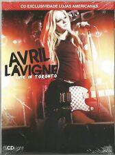 CD AVRIL LAVIGNE - LIVE IN TORONTO [BRAZILIAN RELEASE]