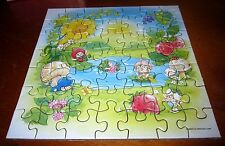 BERRYKINS jigsaw puzzle 1985 Berry Princess swimming American Greetings