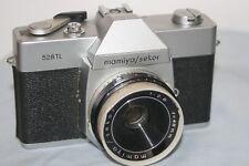 Mamiya Sekor 528 TL 35mm SLR Film Camera - New Battery - Good Condition.