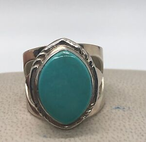 DTR Jay King Sterling Silver 925 Turquoise Ring Size 7.5