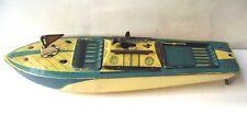 CANOT BATEAU tole à clée 30,5 cm - CR UNIS FRANCE - CHARLES ROSSIGNOL