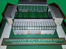 Personalised Gifts , Football Rugby Model Stadium & Working Floodlights