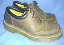 Dr. Martens Oxfords Shoes Brown Leather Size 6 Air Cushioned Sole Air Wair