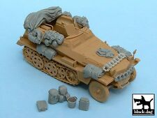 Black Dog 1/48 Sd.Kfz.250/3 Greif Accessories Set WWII (for Tamiya 32550) T48022