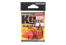 Decoy Worm 17KG High Power Offset Worm Hooks Size 1 (8016)