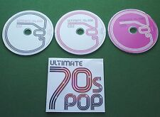 Ultimate 70s Pop Osmonds David Soul Mud Chicago Mott Hoople Abba + Set CD x 3