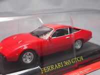 Ferrari Collection 365 GTC/4 1/43 Scale Box Mini Car Display Diecast vol 50
