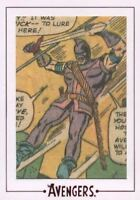 Avengers The Silver Age Comic Archive Cuts Chase Card AV19 #78/112