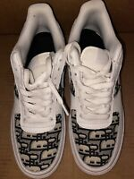 Nike Air Force 1 / Custom /  Size 8 / FAST SHIPPING