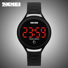 Skmei Camo Women Ladies Watches Digital Silicone Girls Watch Sports Wristwatch@