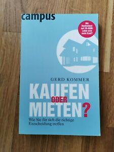 Gerd Kommer - Kaufen oder Mieten?