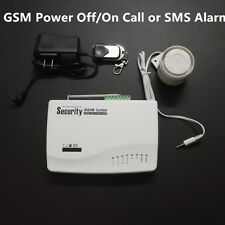 Power On Cut Off GSM Alarm Call & SMS Inform Power Failure and Recover Alarm