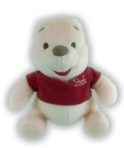 """10"""" DISNEY BABY TAN SOOTHING SOUNDS WINNIE THE POOH PLUSH  60-9"""