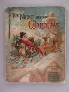 The Night Before Christmas - circa 1890's ~~ Father Tuck