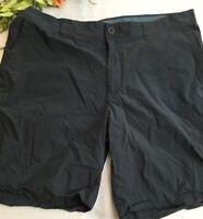 Mens Columbia Gray Flat Front Shorts 40