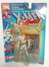 1992 ToyBiz Marvel X-Men X-Force Shatterstar Sealed  Damaged Card NOS