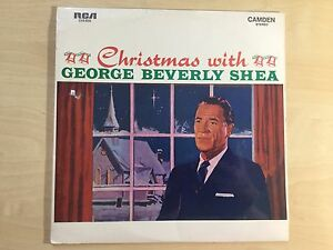 Vinyl LP - Christmas with George Beverly Shea RCA Camden (1964)