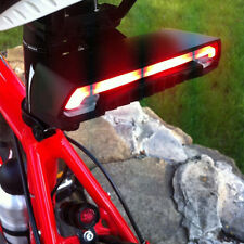 Bicycle Rear Tail Light With Turn Signals Auto Control Wireless Remote 2 Laser