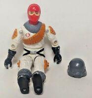 Ice Viper GI Joe 1987 Hasbro Action Figure Vintage Driver Pilot Cobra Authentic