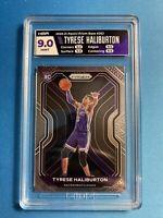 Tyrese Haliburton RC Rookie Card 2020-21 Panini Prizm Basketball NBA HGA 9 9.5