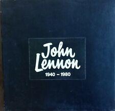 John Lennon -John Lennon 1940 - 1980.1980's Aussie Black Box Set Of 8 Solo LP's