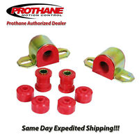 Prothane 84-01 Jeep Cherokee Comanche Front Sway Bar Bushing Kit 24mm Bar 1-1103