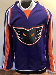 Philadelphia Phantoms Authentic Edge 2.0 Home Purple Jersey