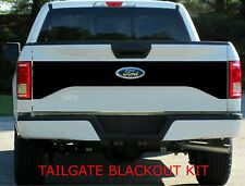 2015-2017 FORD F-150 TAILGATE BLACKOUT DECAL VINYL GRAPHIC 4x4 F02