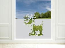 Sichtschutzfolie Hund Fensterfolie Wohnzimmer Kinderzimmer Glastür Aufkleber