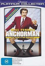 ANCHORMAN - BRAND NEW & SEALED R4 DVD (WILL FERRELL, CHRISTINA APPLEGATE)