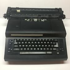 Vintage Sears Electric Typewriter Correct O Sphere W/HardCase Works Well Black