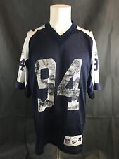 Dallas Cowboys Demarcus Ware NFL Throwback Vintage Collection Reebok Jersey M