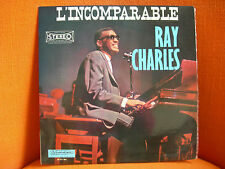VINYL 33T – RAY CHARLES : L'INCOMPARABLE – SOUL JAZZ BLUES – 1964 ORIGINAL FRENC