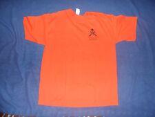 IRON MAIDEN 2006 Eddie's Foot Soldier CREW shirt Orange size XL RARE