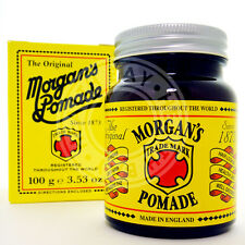 MORGAN'S POMADE Gray Grey White Hair Cream Pomada Crema Cabello Blanco Canas