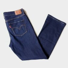 Levi's Womens 315 Shaping Bootcut Size 31 x 32 Denim Jeans Splash Blue Stretch