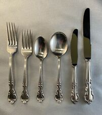 Vintage Easterling American Classic sterling silver flatware 30 piece set, 5 x 6