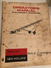New Holland Bale Carrier 132. Operators manual item 73