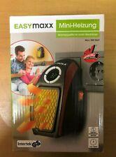 Easymaxx Mini- Heizung Wärmequelle an jeder Steckdose Max. 500 Watt